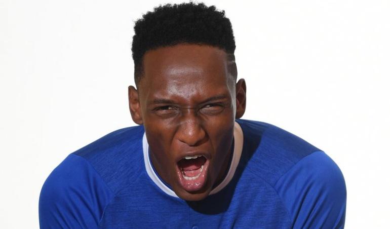 Everton Yerry Mina: Sin debutar, los hinchas del Everton ya le compusieron una canción a Mina