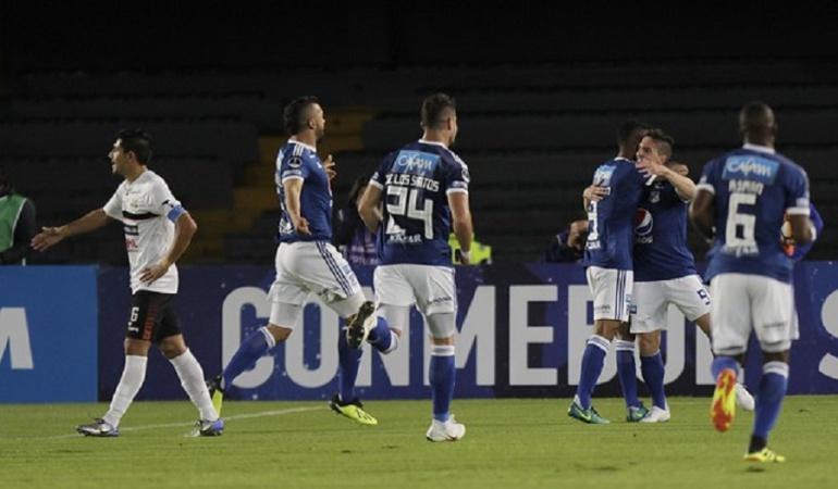 Millonarios General Díaz Copa Sudamericana: Clásico en Sudamericana: Millonarios avanzó a octavos y jugará con Santa Fe