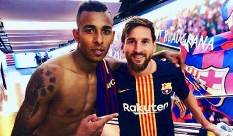 """Sebastián Villa, Lionel Messi, Boca Juniors, Barcelona: """"Los sueños se hacen realidad"""": Sebastián Villa luego de conocer a Messi"""