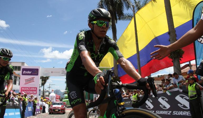 Vuelta a Colombia etapa 9: Montaña ganó etapa 9 y Caicedo se acerca al título de la Vuelta a Colombia