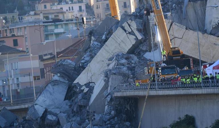 Personas muertas en accidentes: Un colombiano murió en la tragedia de Génova - Italia