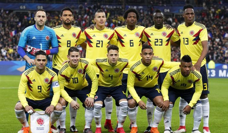 clasificación FIFA 2018: Colombia asciende en la clasificación FIFA que lidera Francia