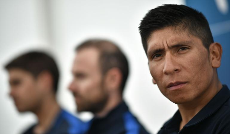Nairo Quintana partidos políticos: Nairo Quintana aseguró que los partidos políticos abusan de sus opiniones