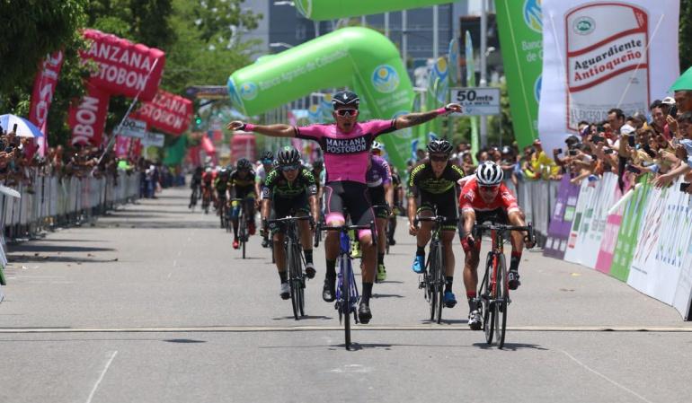 Sebastián Molano, Vuelta Colombia 2018: Sebastián Molano ganó la décima etapa de la Vuelta Colombia