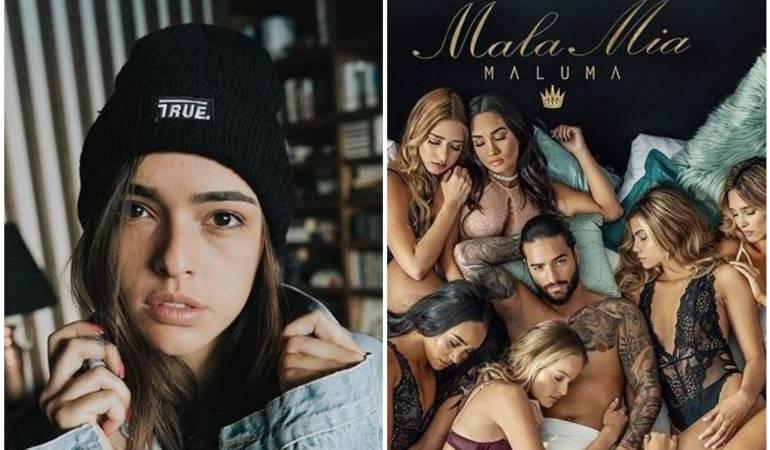 Críticas que ha recibido Maluma por su canción 'Mala mía': Así va la discusión entre Lucy Vives y Maluma