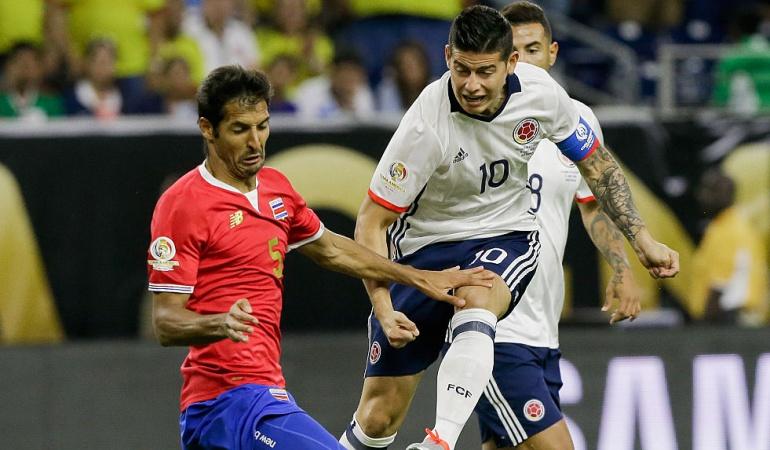 Colombia amistoso Costa Rica: Colombia jugará un partido amistoso ante Costa Rica en octubre