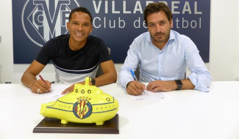 Villarreal regreso Carlos Bacca: Villarreal hace oficial el regreso de Carlos Bacca