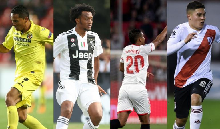 Programación jugadores selección clubes: Partidos y resultados de los jugadores de la Selección en sus clubes