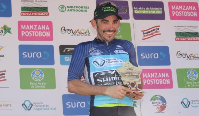 Etapa 11 Vuelta a Colombia: José Serpa se llevó la etapa 11 de la Vuelta a Colombia