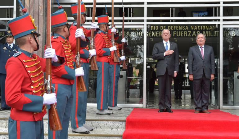Acuerdos internacionales: EE.UU y Colombia fortalecerán cooperación en seguridad: MinDefensa