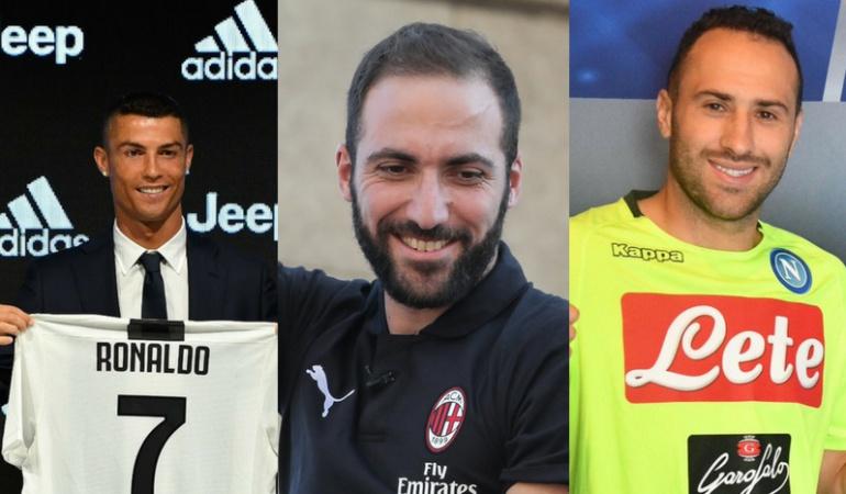 Serie A Fichajes: La Serie A superó los mil millones en fichajes con Cristiano como figura