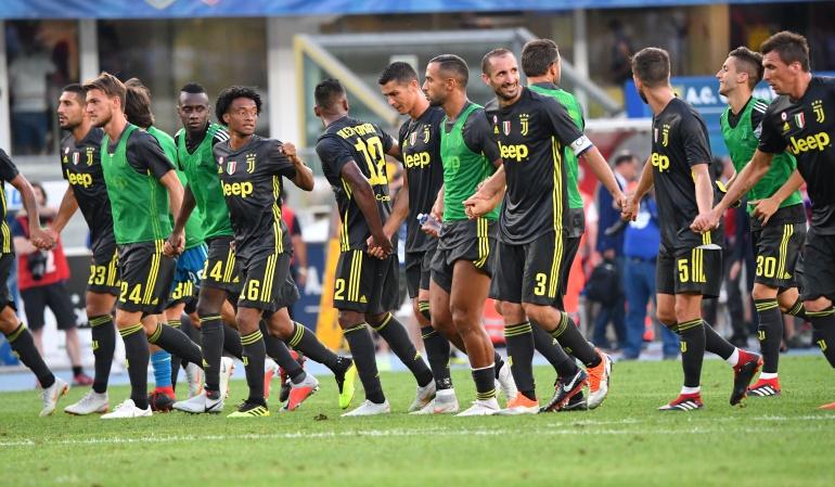 Juan Guillermo Cuadrado: Cuadrado fue titular en la victoria de la Juventus y el debut de Cristiano
