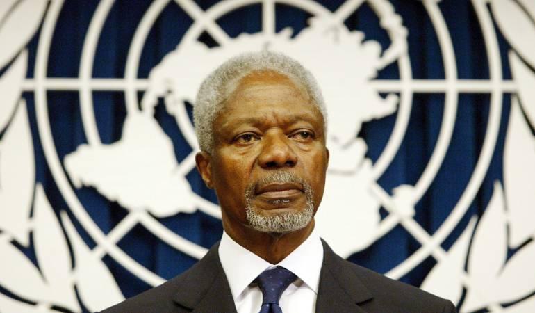 Falleció Kofi Annan, exsecretario general de la ONU