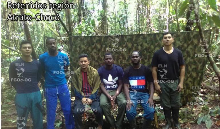 Secuestro: ELN revela nuevas pruebas de supervivencia de secuestrados