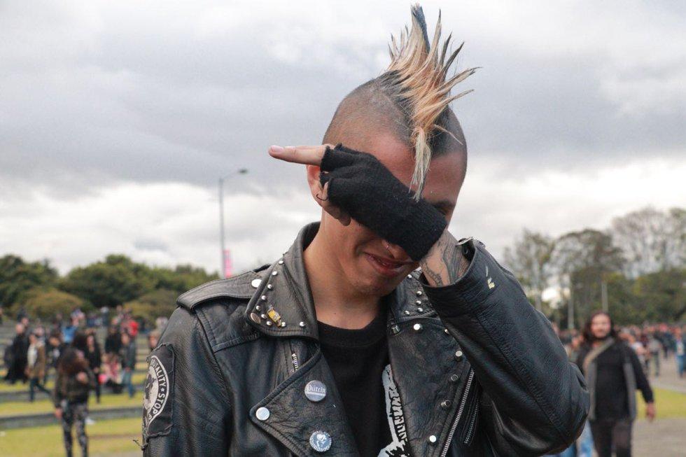 Rock al parque 2018: Empiezan a mover la cabeza los asistentes de Rock al Parque 2018