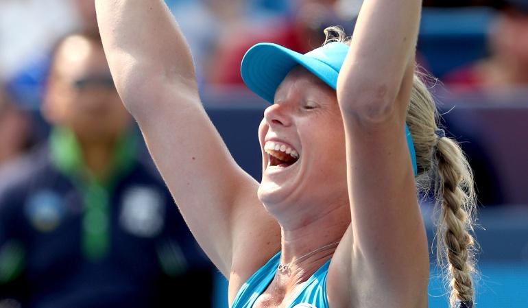 Masters 1000 Cincinnati, Kiki Bertens, Simona Halep: Kiki Bertens conquistó Cincinnati, tras vencer en la final a Simona Halep