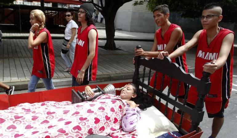 Día mundial de la pereza.: Itagüí celebra el día mundial de la pereza