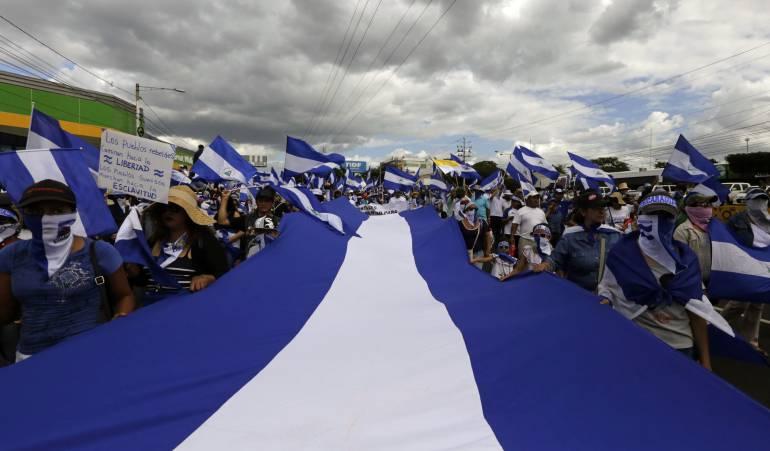 Violencia gubernamental: La OEA alerta desplazamiento masivo en Nicaragua por violación a los DD.HH
