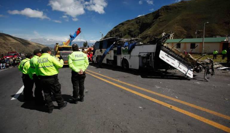 Narcobus Ecuador: Chile, Argentina y Brasil destinos de la marihuana Creepy: Policía