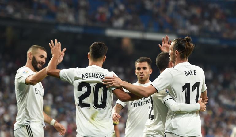 Real Madrid, Liga de España, Getafe, Dani Carvajal, Gareth Bale: Real Madrid venció 2-0 a Getafe, en su debut de la Liga de España
