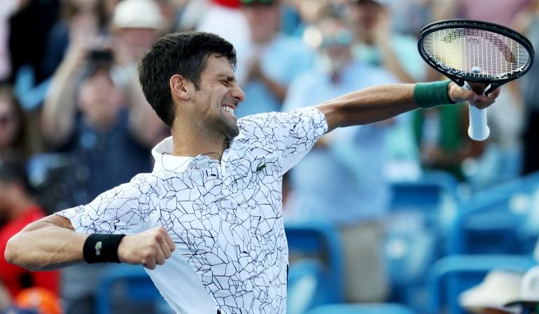 Novak Djokovic, Roger Federer, Masters 1000 de Cincinnati: Djokovic derrotó a Federer y se quedó con el trofeo de Cincinnati