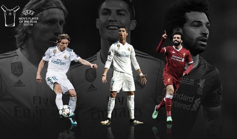 Ronaldo Modric Salah nominados UEFA: Ronaldo, Modric y Salah, finalistas a mejor jugador de la UEFA en el año