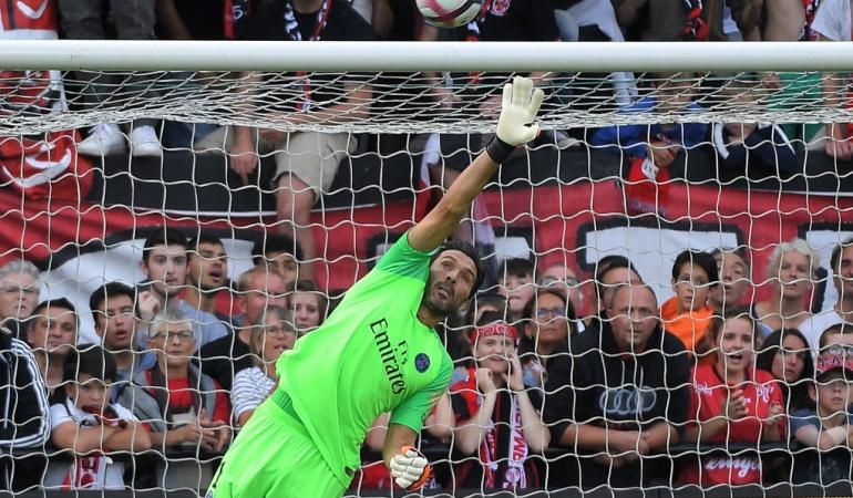 Atajada Buffon PSG Caen: La impresionante atajada de Buffon en la victoria del PSG al Guingamp