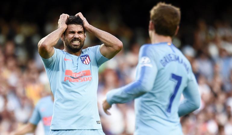 Atlético de Madrid, Santiago Arias: Sin Santiago Arias, Atlético debutó con empate en la Liga de España