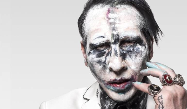 Incidente Marilyn Manson.: Marilyn Manson sufre un incidente en el escenario por fuerte ola de calor