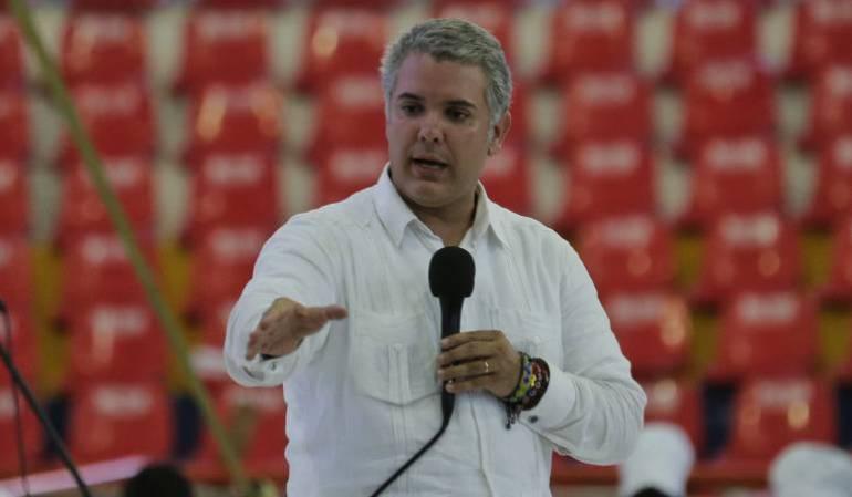 Presidencia: Voy a votar la consulta Anticorrupción: presidente Iván Duque