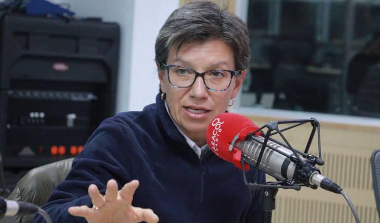 """Futuro político de Claudia López: """"O me lanzó a la alcaldía o voy a la presidencia en 2022"""": Claudia López"""