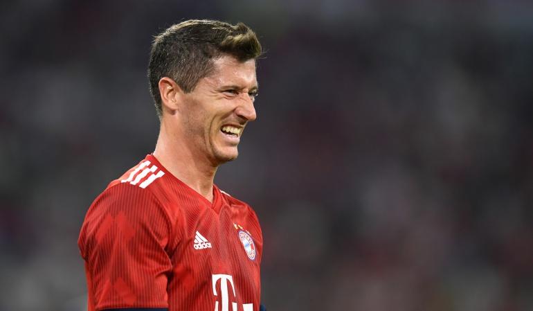 Robert Lewandowski, Bayern Múnich: Robert Lewandowski aseguró que no dejará el Bayern Múnich, pero sí lo pensó