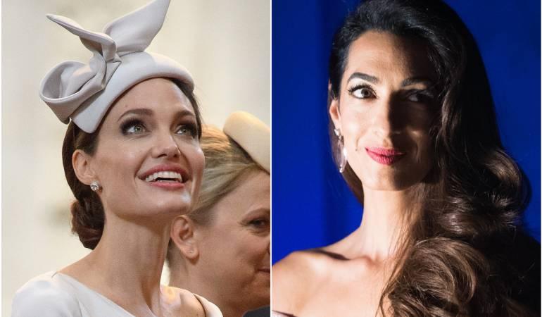 Angelina Jolie y Amal Clooney