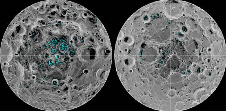 Sistema solar: ¡Increible! Científicos descubrieron hielo en la Luna