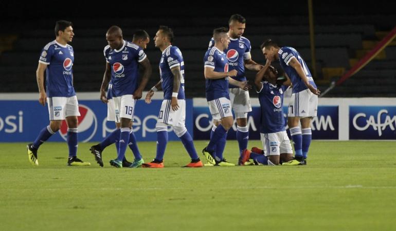 Millonarios Vs Chicó Copa Águila: Millonarios tomó ventaja ante Chicó en la Copa Águila