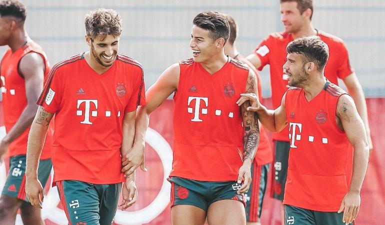Niko Kovac James Rodríguez Bayern Múnich: Niko Kovac informó que James está disponible para el juego de este viernes