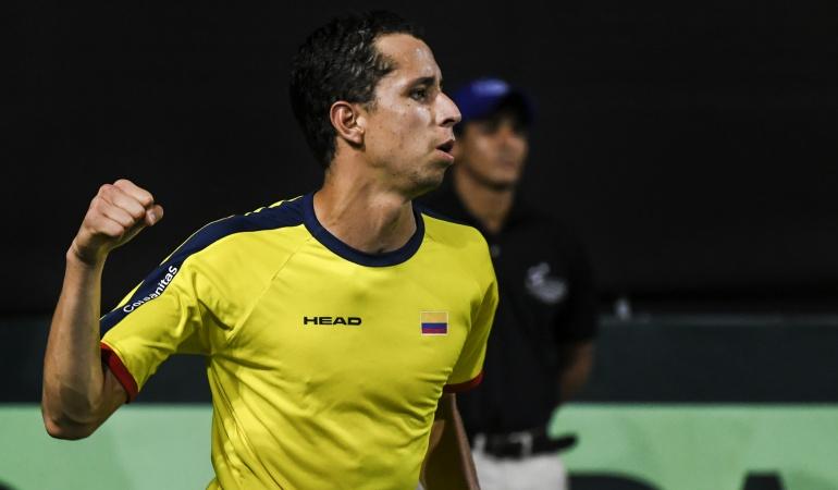 Daniel Ganlán, US Open: Daniel Galán, a una victoria de su primer cuadro principal del US Open