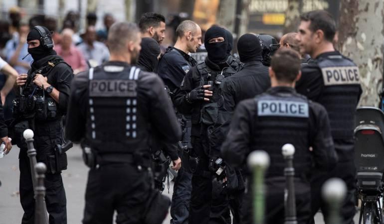 Ataques terroristas.: Ataque terrorista del EI en Francia deja dos muerto