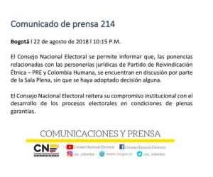 Colombia Humana.: Colombia Humana, por ahora, no será partido político