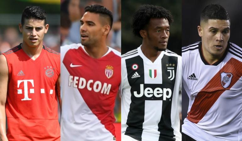 Partidos de los jugadores de la Selección Colombia: Partidos y resultados de los jugadores de Selección en sus clubes