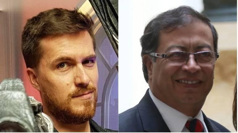Confusiones en twitter Gustavo Petro.: El periodista brasileño al que confunden con Petro