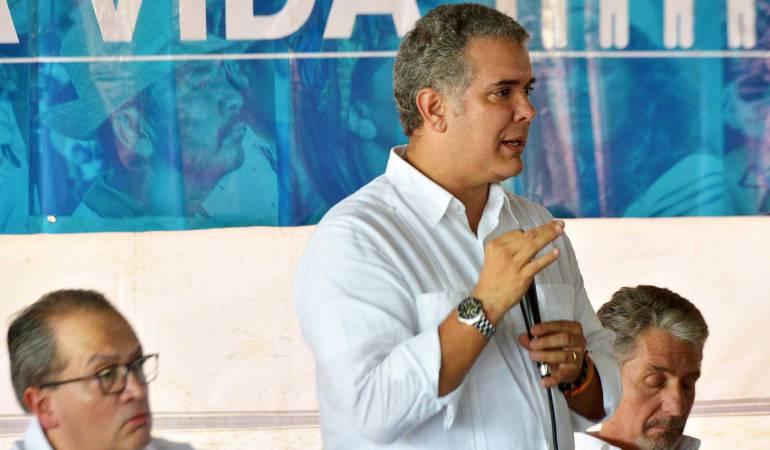 Lideres sociales.: Duque formaliza pacto para garantizar protección de los líderes sociales