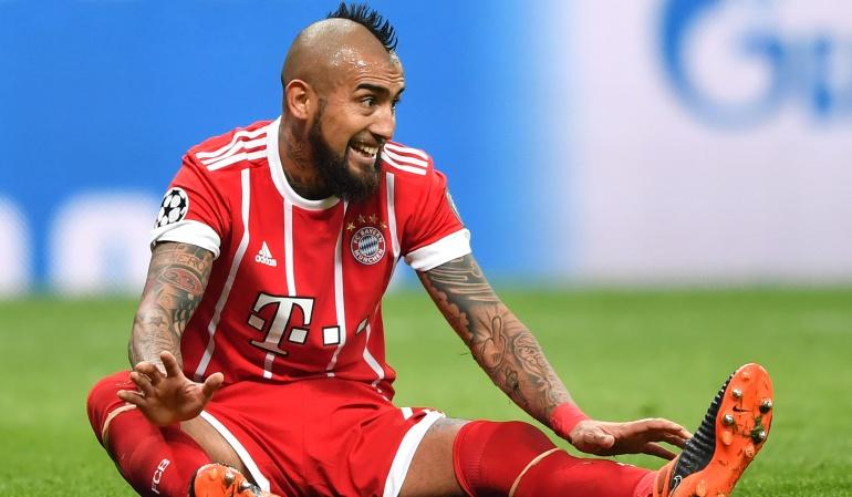 """Arturo Vidal Champions: Vidal: """"Con el VAR, el Bayern habría ganado las dos últimas Champions"""""""