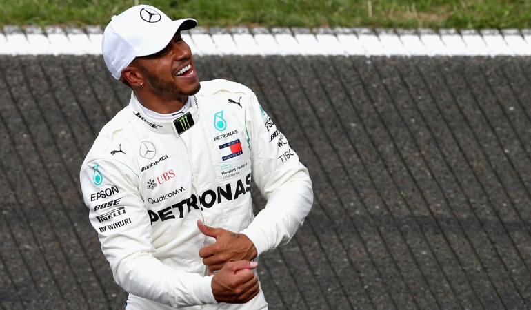 Hamilton Pole Formula 1: Hamilton saldrá de primero en el Gran premio de Bélgica