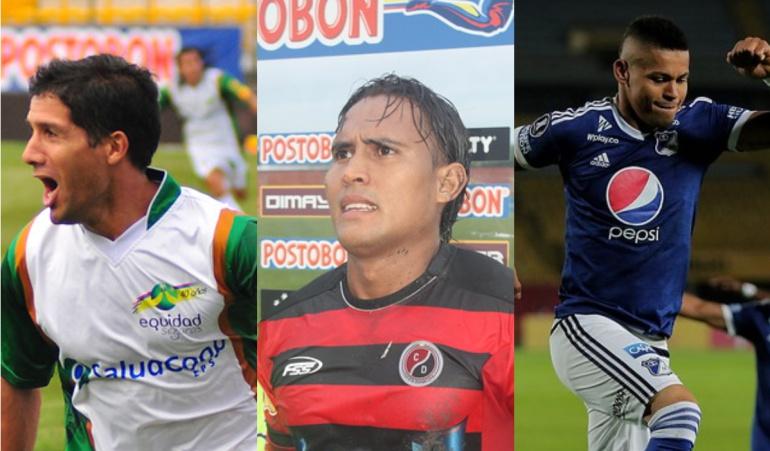 Ariel Carreño, Henry Hernández y Ayron Del Valle.