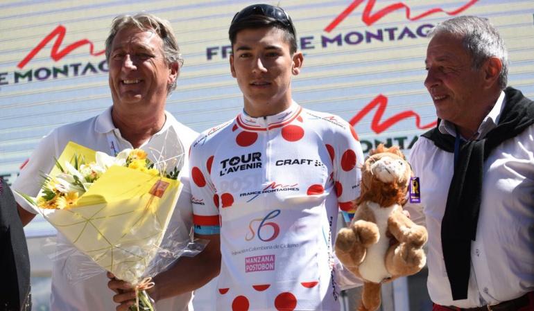 Tour de L'Avenir Colombia: Colombia ganó el título por equipos y la montaña en el Tour de L' Avenir