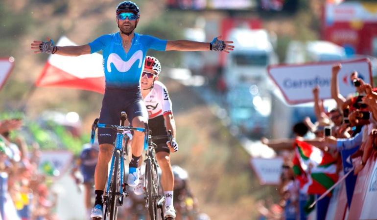 "Alejandro Valverde Nairo Quintana Vuelta a España: Alejandro Valverde: ""No estoy mal, pero Nairo tampoco. Él es el líder"""