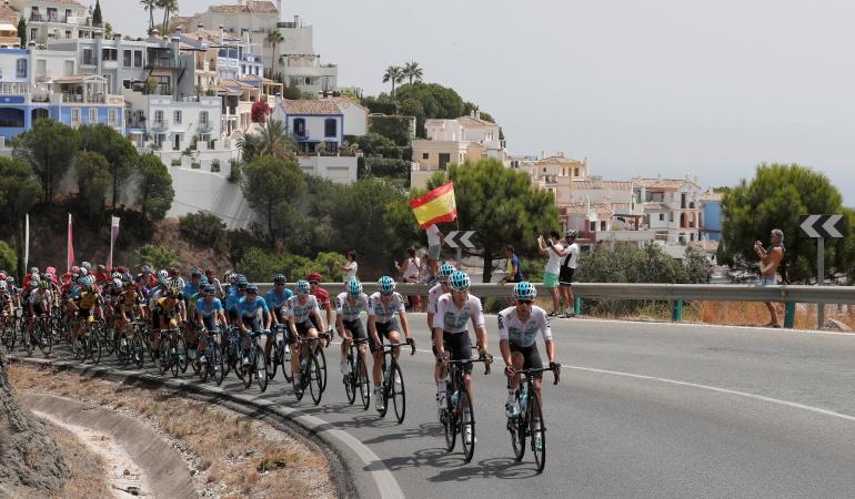 Tercera etapa Vuelta España: Viviani se impone en el esprint; Kwiatkowski sigue líder