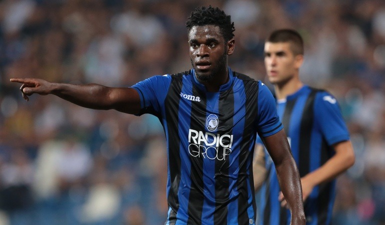 Duvan Zapata, Roma, Atalanta: Duván Zapata fue titular con Atalanta en el empate 3-3 contra la Roma