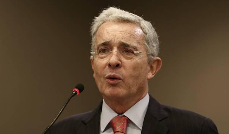 Álvaro Uribe, senador de Centro Democrático.
